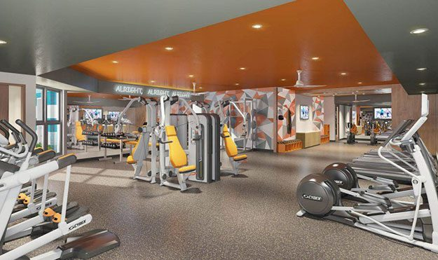 The Nine at West Campus Fitness Center